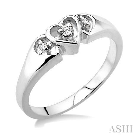 Heart Shape Diamond Ring