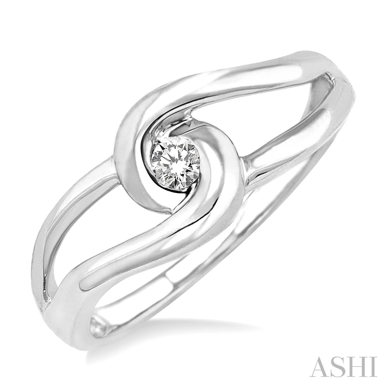 Knot Diamond Ring