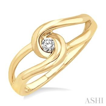 KNOT DIAMOND RING