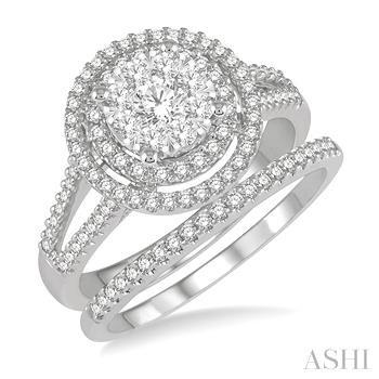 Lovebright Bridal Diamond Wedding Set
