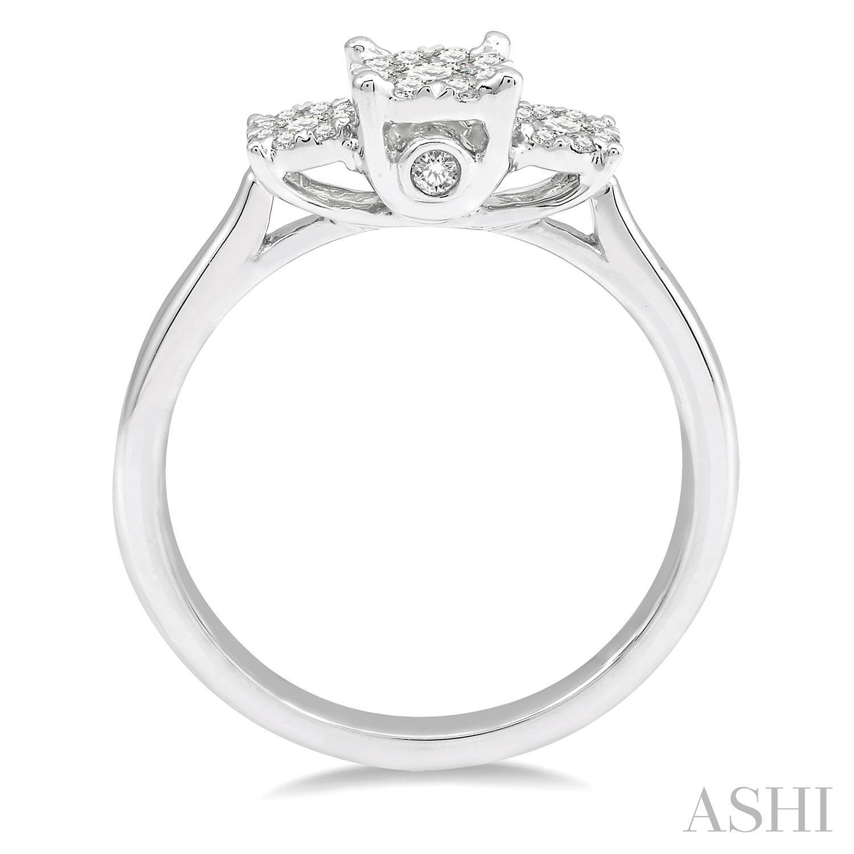Past Present & Future Lovebright Essential Diamond Ring