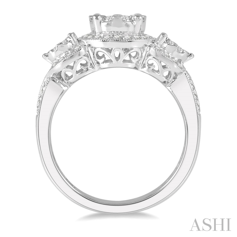 Lovebright Bridal Diamond Engagement Ring