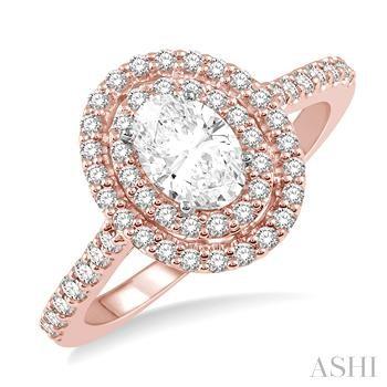 OVAL SHAPE DIAMOND ENGAGEMENT RING
