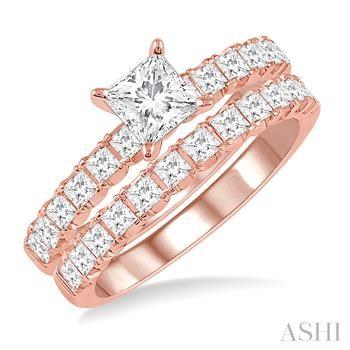 Endless Embrace Diamond Wedding Set