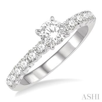 ENDLESS EMBRACE SEMI-MOUNT DIAMOND RING