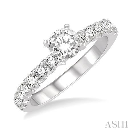 Endless Embrace Semi-Mount Diamond Engagement Ring