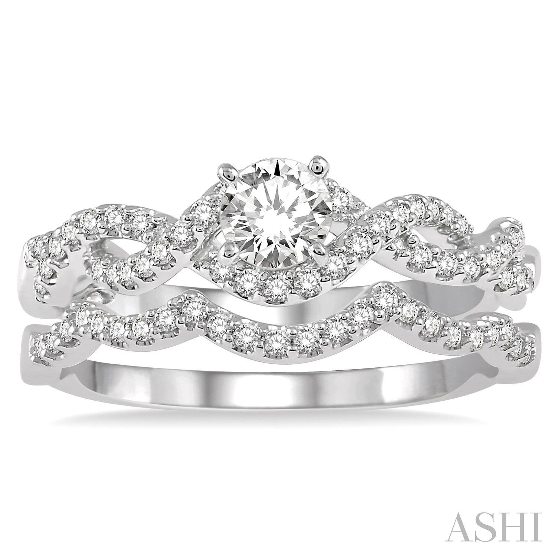 Diamond Wedding Set