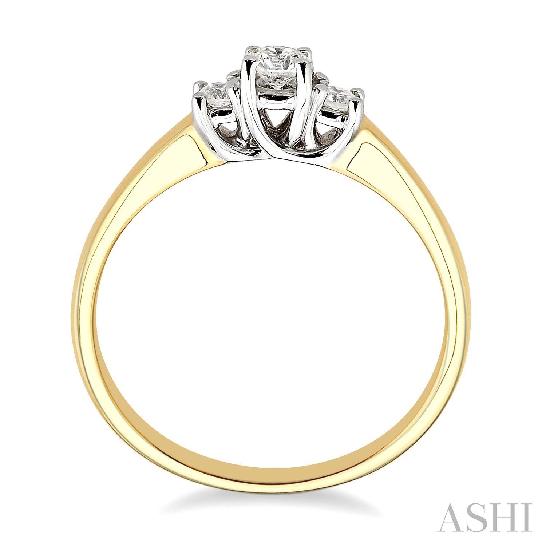 Past Present & Future Diamond Ring