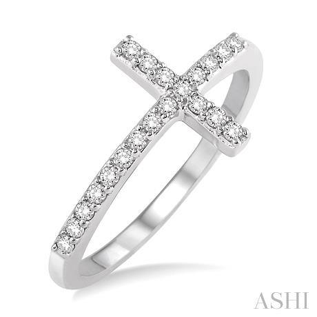 Diamond Cross Ring