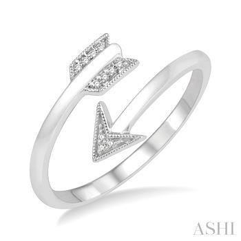 Diamond Fashion Arrow Ring