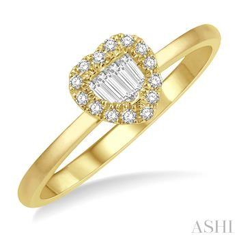 Heart Shape Diamond Fashion Ring