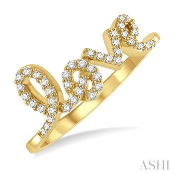 Diamond Fashion Love Ring
