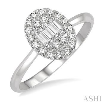 Oval Shape Diamond Ring