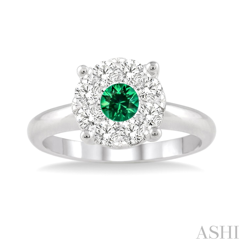 Lovebright Gemstone & Diamond Ring