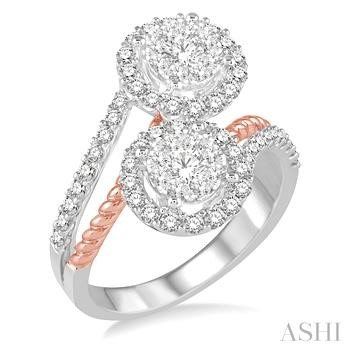 LOVEBRIGHT 2STONE DIAMOND RING
