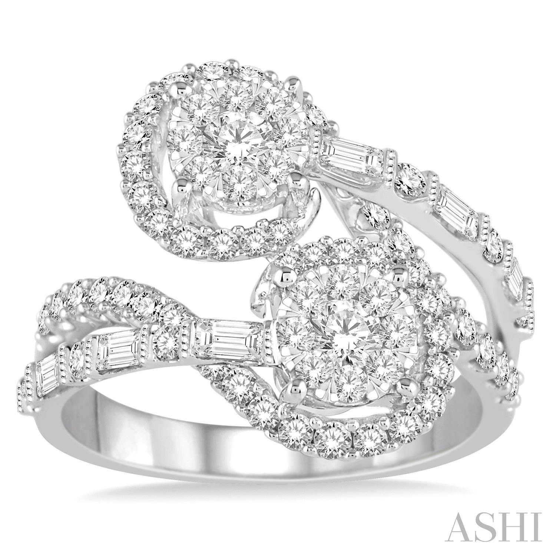 Lovebright 2Stone Diamond Ring