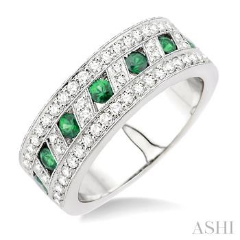 Gemstone & Diamond Ring