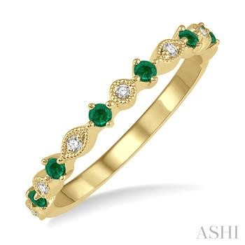 Gemstone & Diamond Band