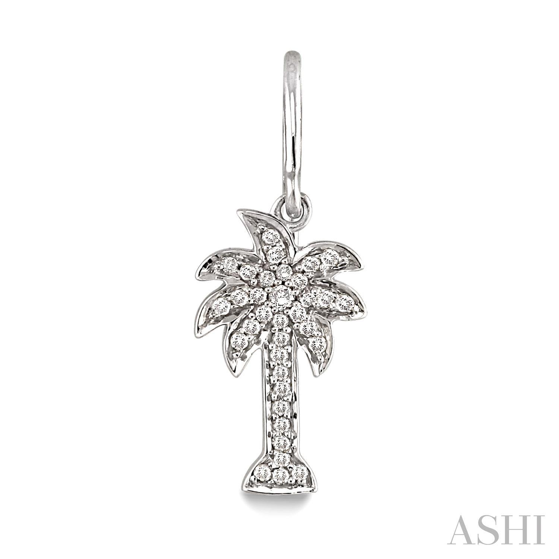Palm Tree Diamond Earrings