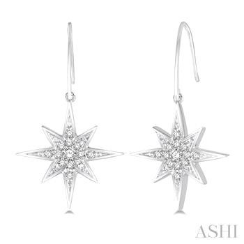Star Diamond Earrings