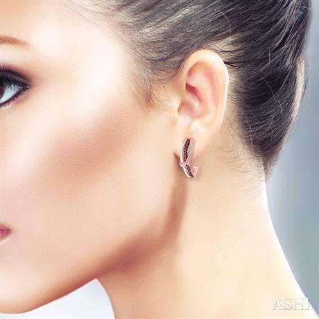 Champagne Diamond Earrings