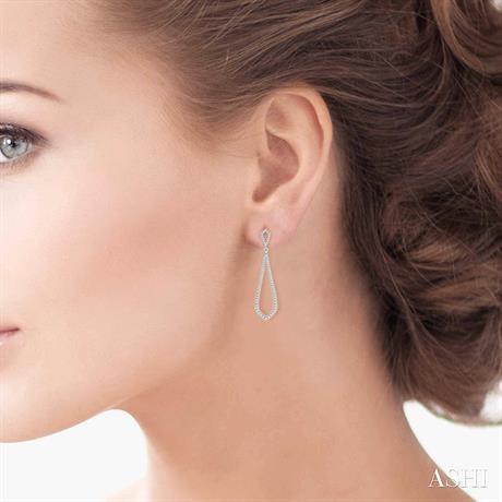 Diamond Long Earrings