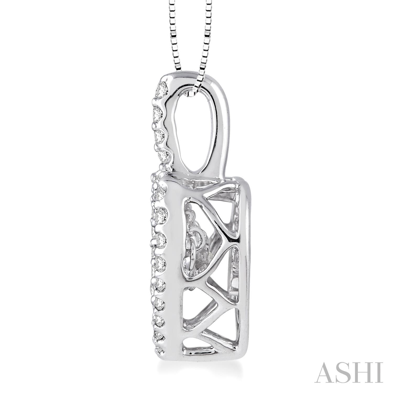Emotion Diamond Heart Shape Pendant