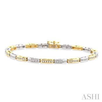 BRIDGE DIAMOND BRACELET