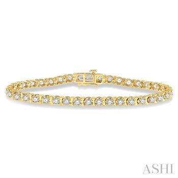 Illusion Diamond Bracelet