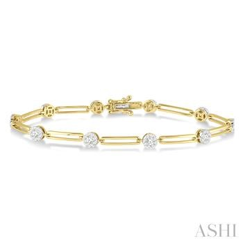 Lovebright Diamond Link Bracelet
