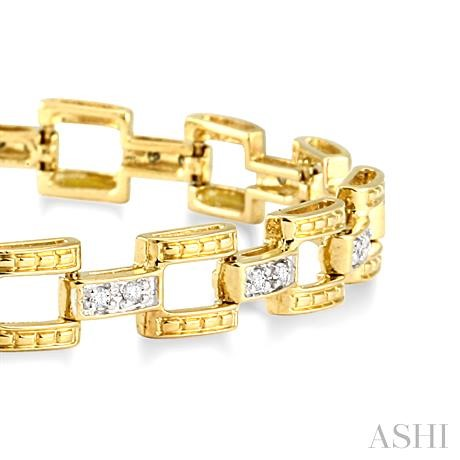 Bar Link Diamond Bracelet