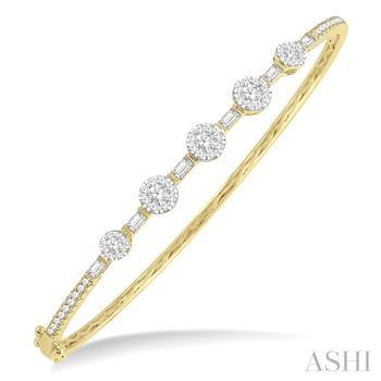 LOVEBRIGHT DIAMOND BANGLE