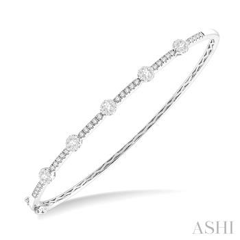 Lovebright Essential Diamond Bangle