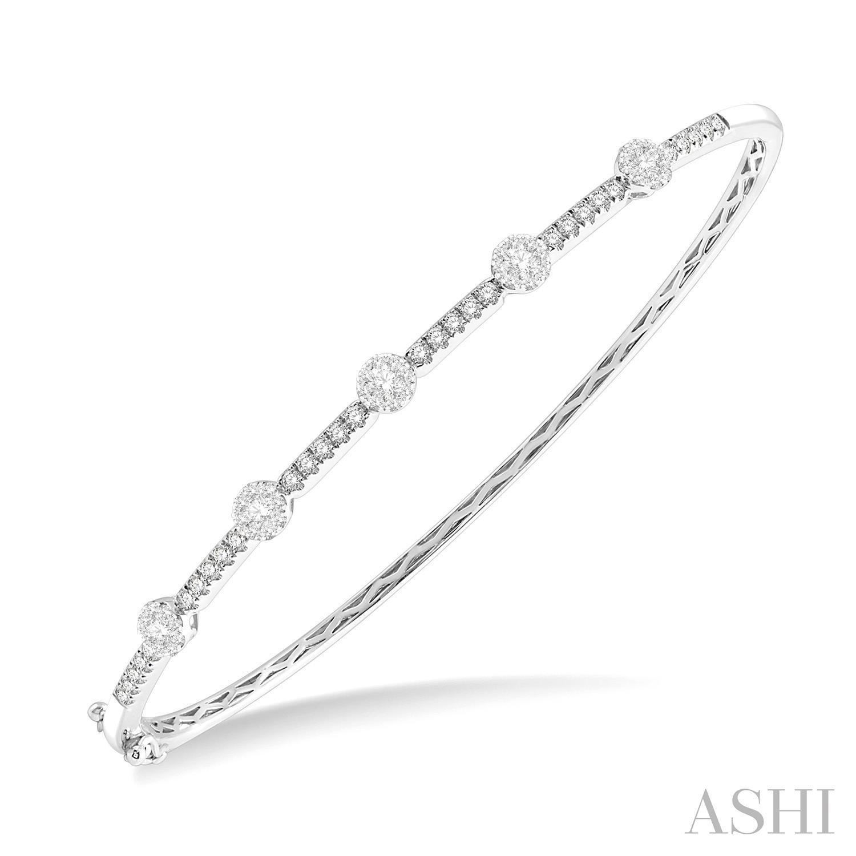 Lovebright Essential Diamond Bangle