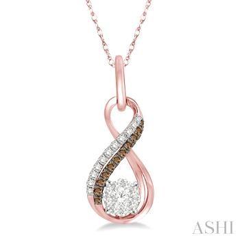 LOVEBRIGHT CHAMPAGNE DIAMOND PENDANT