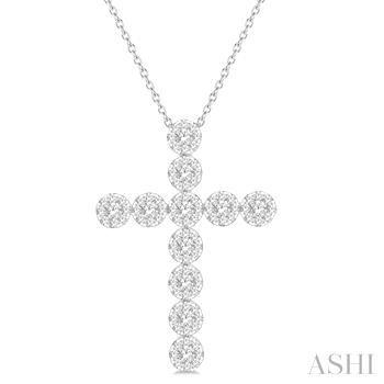 Lovebright Essential Diamond Cross Pendant