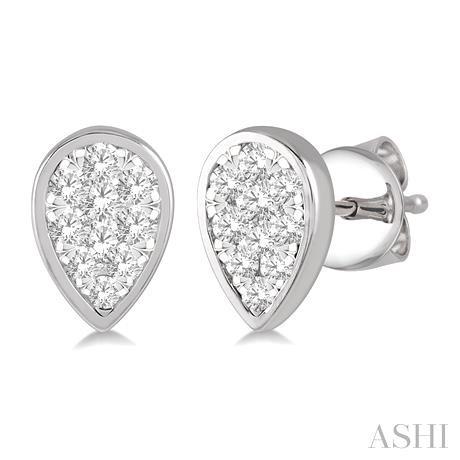 Pear Shape Lovebright Essential Diamond Earrings