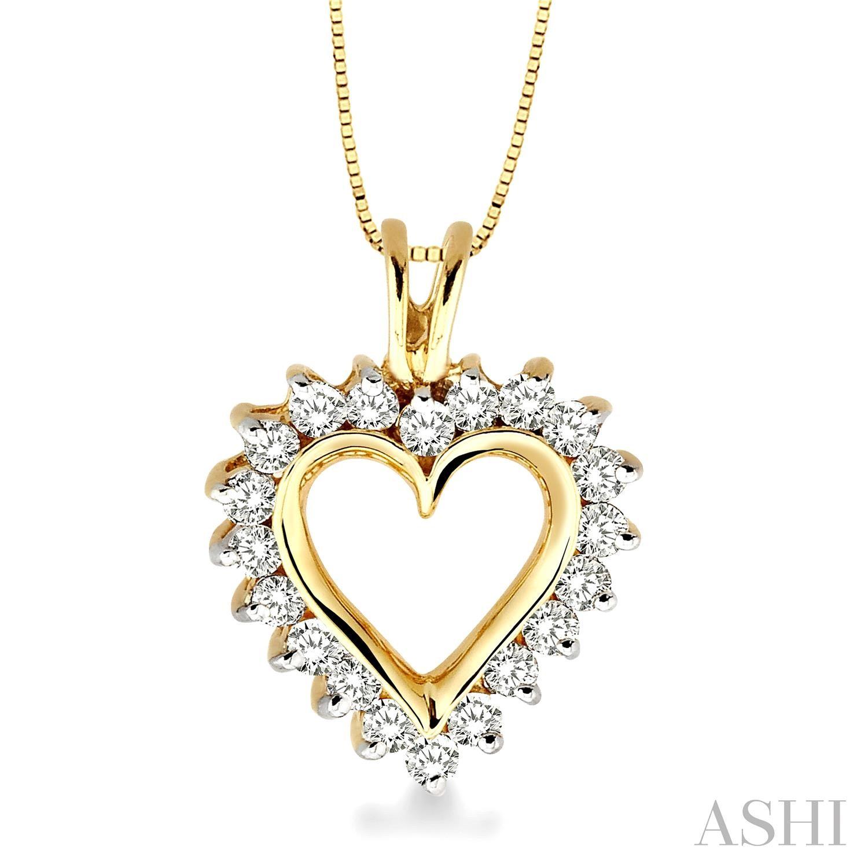 HEART DIAMOND PENDANT