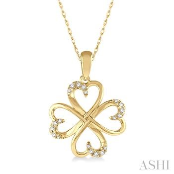 Diamond Heart Shape Pendant