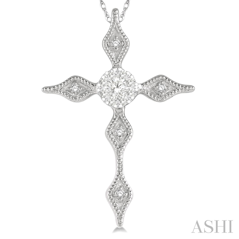 Lovebright Diamond Cross Pendant