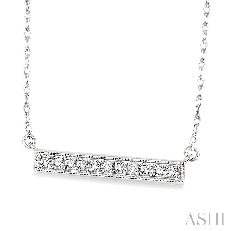 Bar Diamond Pendant