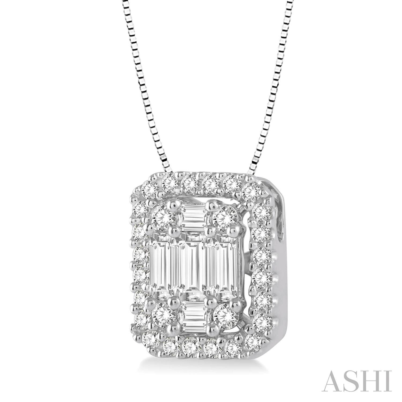 Fusion Diamond Pendant