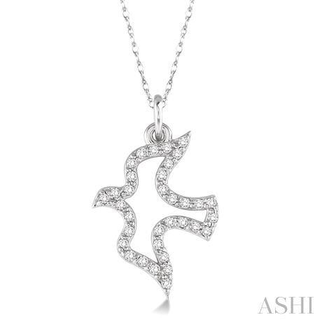 Dove Diamond Pendant