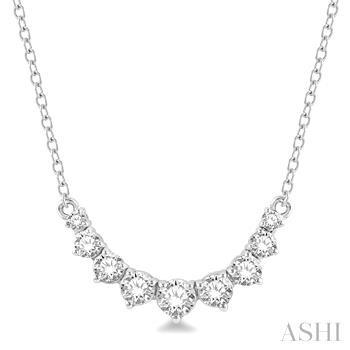 Diamond Flexi Smiley Necklace