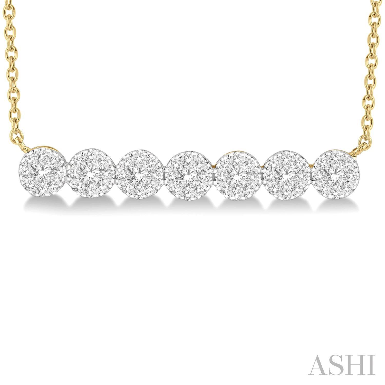 Lovebright Essential Diamond Bar Necklace