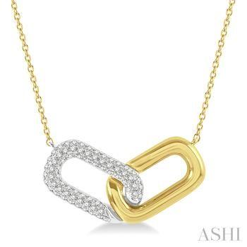 Diamond Clip Necklace
